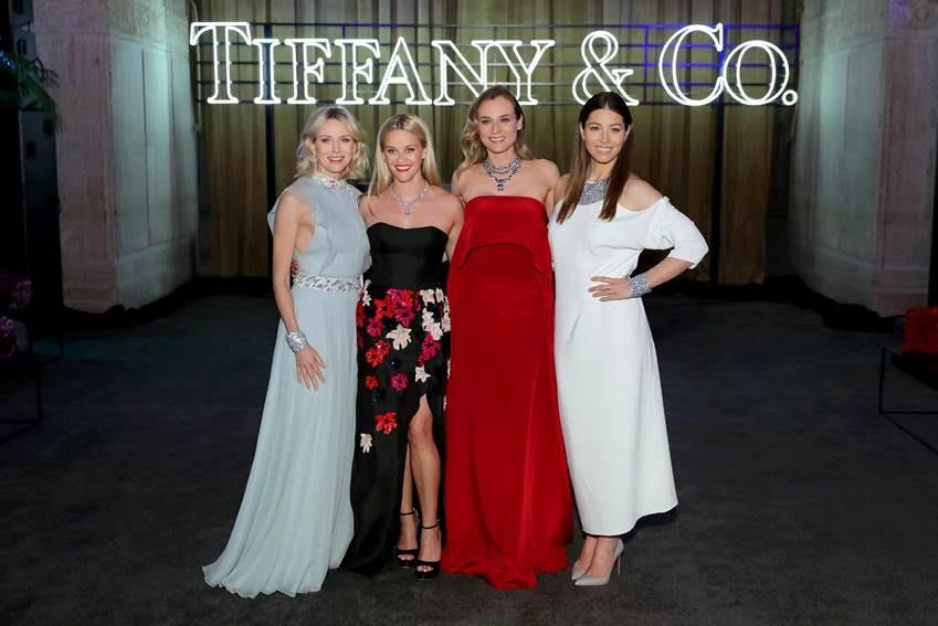 De gauche à droite: Naomi Watts, Reese Witherspoon, Diane Kruger et Jessica Biel