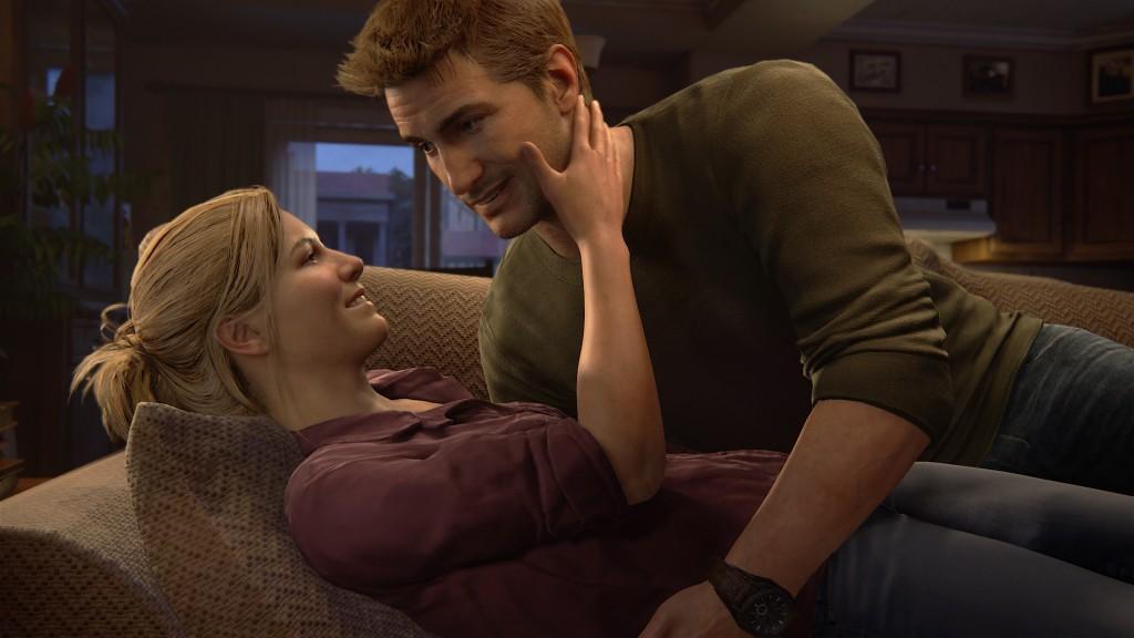 Elena et Nathan passent des jours paisibles