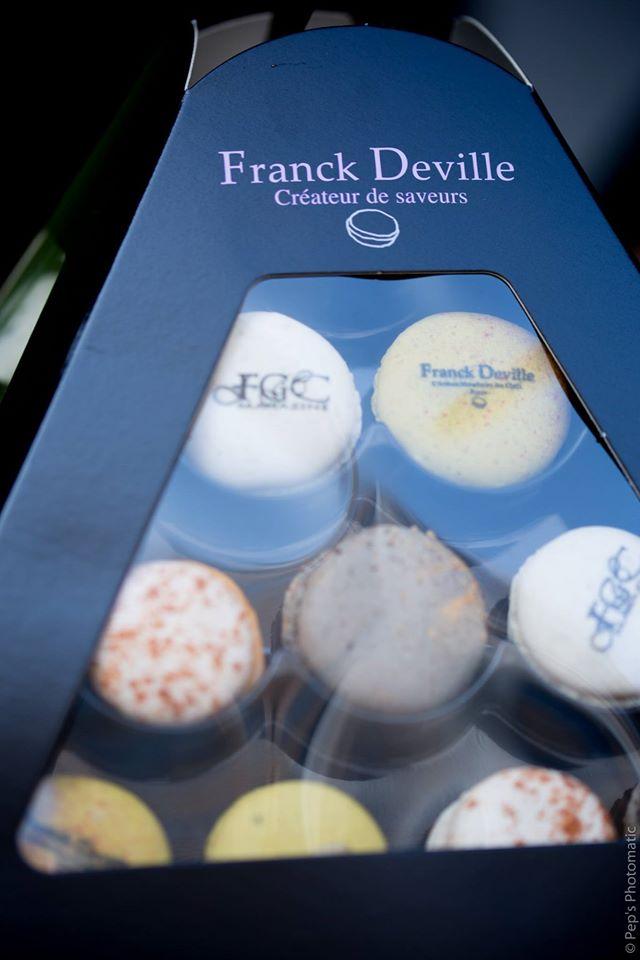 Les macarons Franck Deville Crédit photo: Eric Meyss