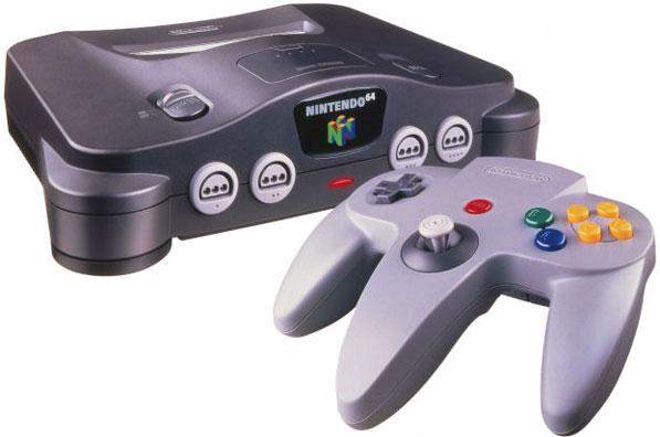 La Nintendo 64, première console à proposer de vrais jeux vidéo en 3D