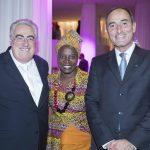 Amnesty International a donné la 22 e édition du gala « Musique contre l'oubli », au théâtre des  Champs-Élysées