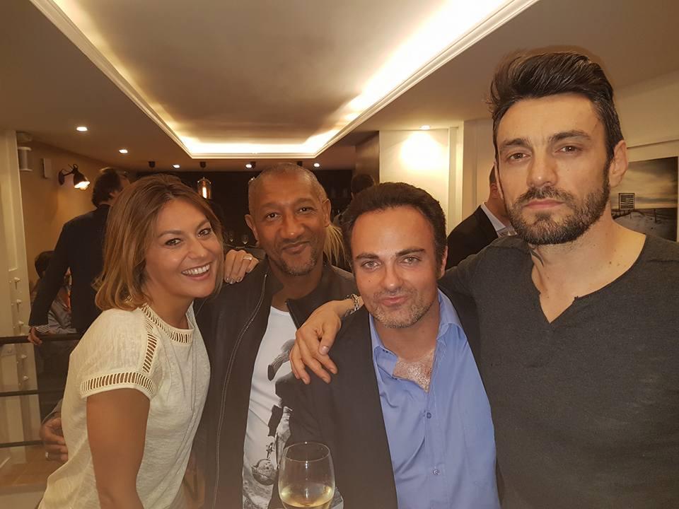 Shirley Bousquet, Edouard Montoute, Laurent Amar et Cyril Ferment