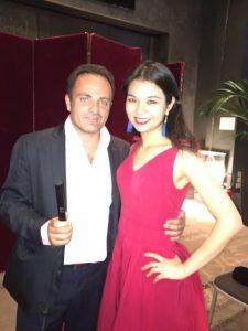 Laurent Amar et Vera Ye Jiameng