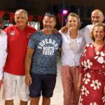 Isabelle Weill et l'association AJILA ont organisé un nouveau tournoi de  pétanque tropézien.