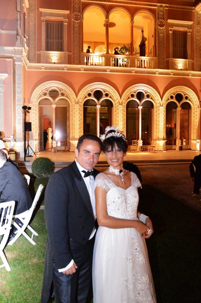 Laurent Amar et la Comtesse Calypso de Sigaldi