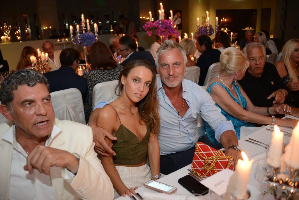 David Ginola et sa fille Carla