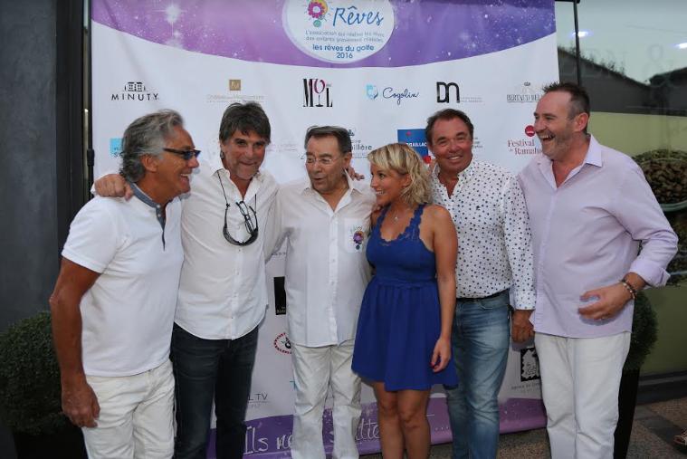 Jean-Pierre Savelli, Tex, Myriam Abel, Hervé Pouchol et Gérard Sommelier