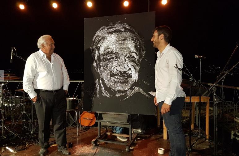 Lors de la soirée privée de Marcel Campion, le 5 Août dernier à Saint-Tropez