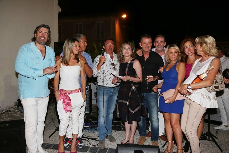 En compagnie de Myriam: Sami Nacery, Grâce de Capitani, Gérard Sommelier et son associé Jean-Marc puis Myriam Charleins,