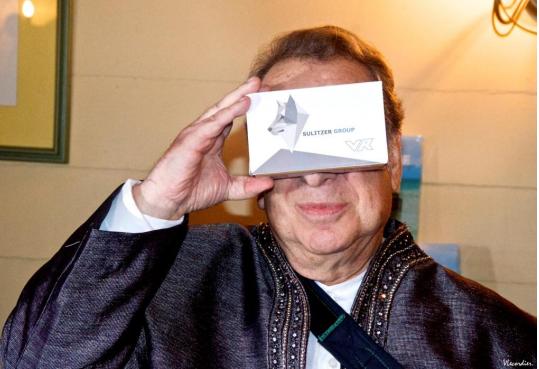 La réalité virtuelle selon Paul-Loup Sulitzer