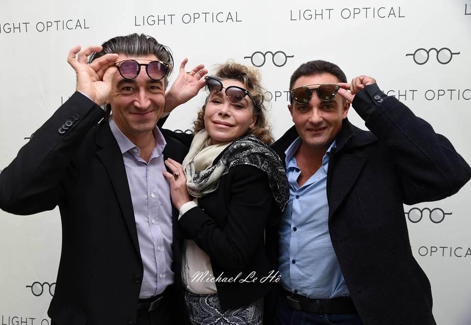 Jean-Pierre Jacquin, Grâce de Capitani et Laurent Amar avec des lunettes Dsquared.