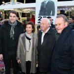 Marcel Campion inaugure le marché de Noël et rend hommage à Yves Montand