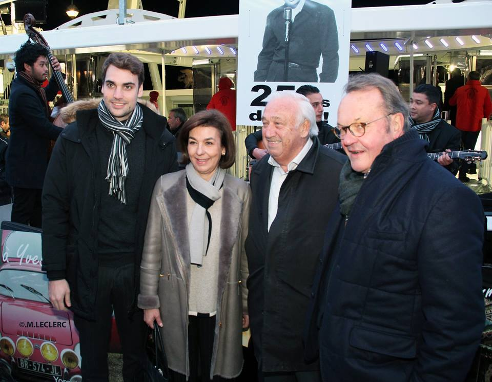 Valentin Montant, Carole Amiel,et Marcel Campion