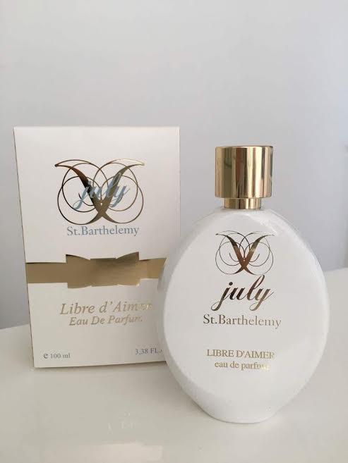 """""""Libre d'aimer"""": la nouvelle fragrance de Juliette"""
