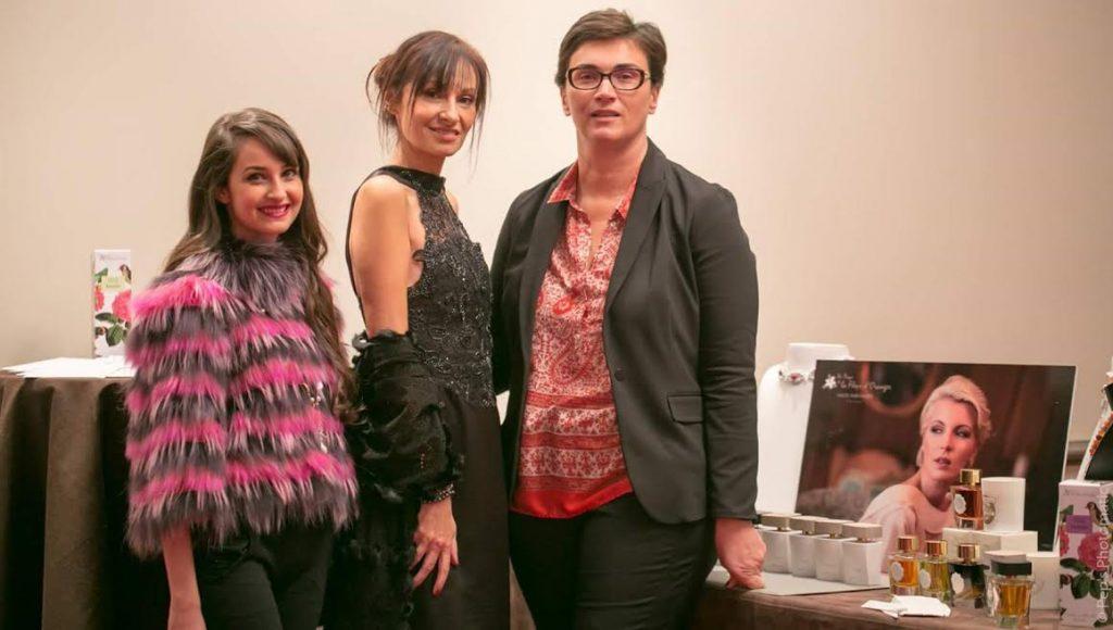 Cassandre de Sigaldi, Calypso de Sigaldi et Virginie Roux