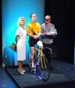 Clémentine Lebocey, Matila Malliarakis et Stéphane Olivié Bisson