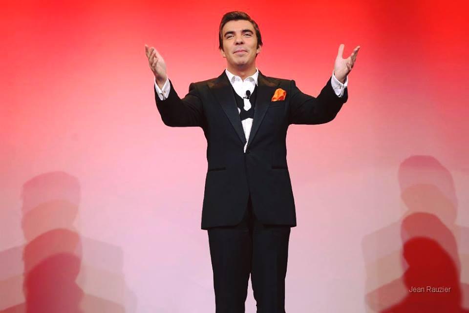 Paul Dureau sur scène