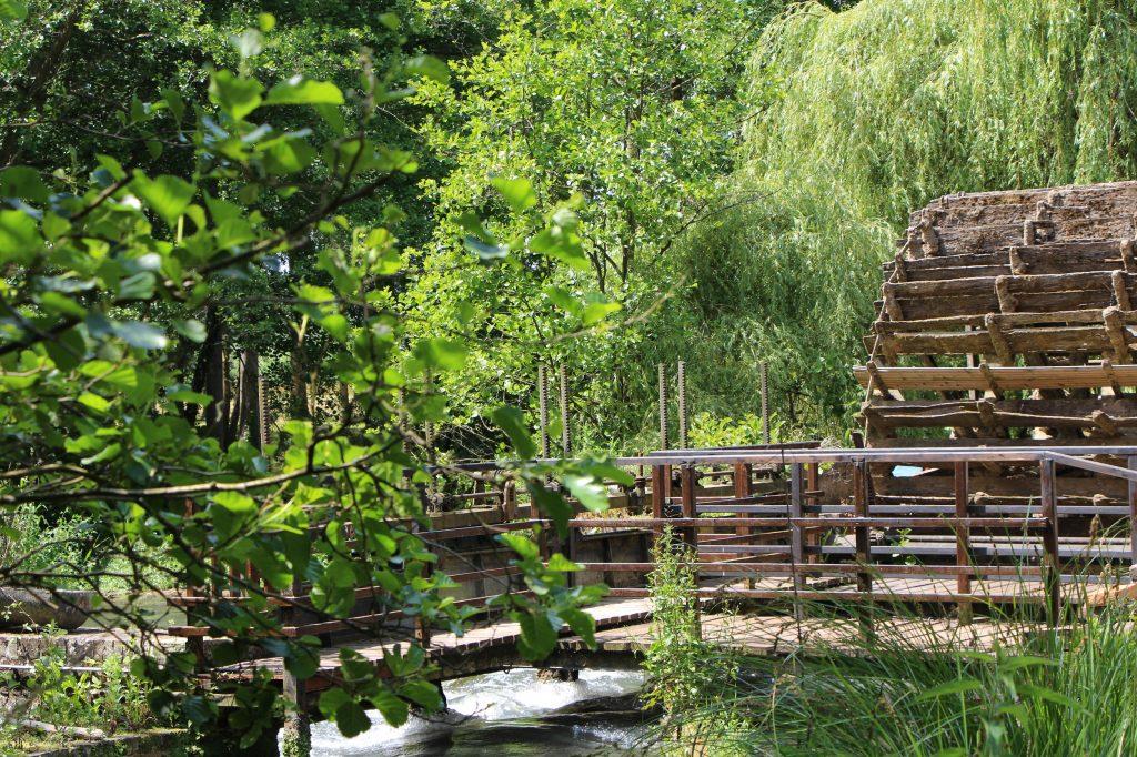 La roue du Moulin de Saint-Germain-sur-Bresle