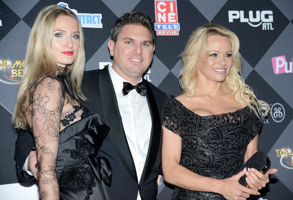 Laura Messia, Jeremy Urbain et Pamela Anderson