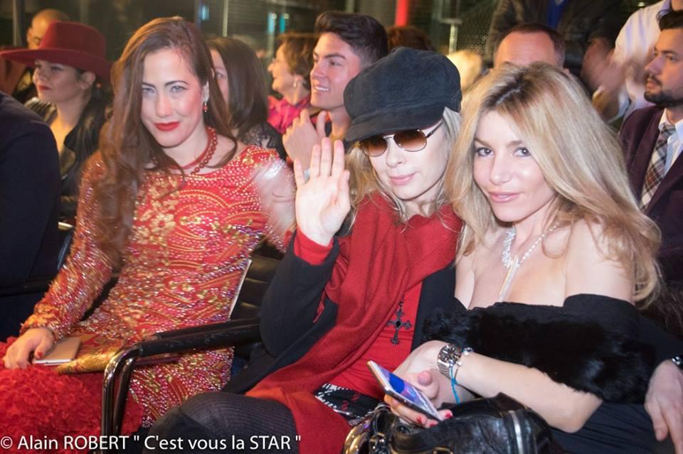 Myriam Charleins, Valérie Steffen et Lola Marois Bigard