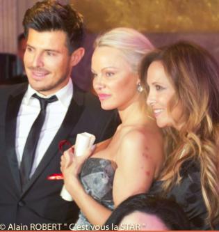 Vincent Niclo, Pamela Anderson et Hélène Segara