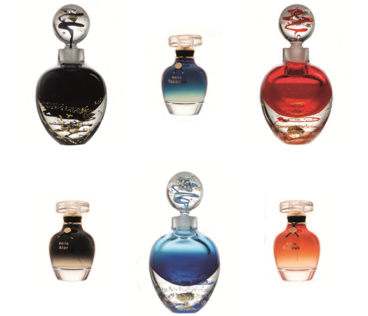 La collection de la Cristallerie de parfum 2