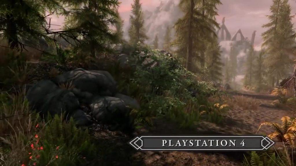 Skyrim sur PS4
