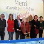 Le Secours populaire clôture le « Don'actions » 2017 en compagnie de Valérie Trierweiler