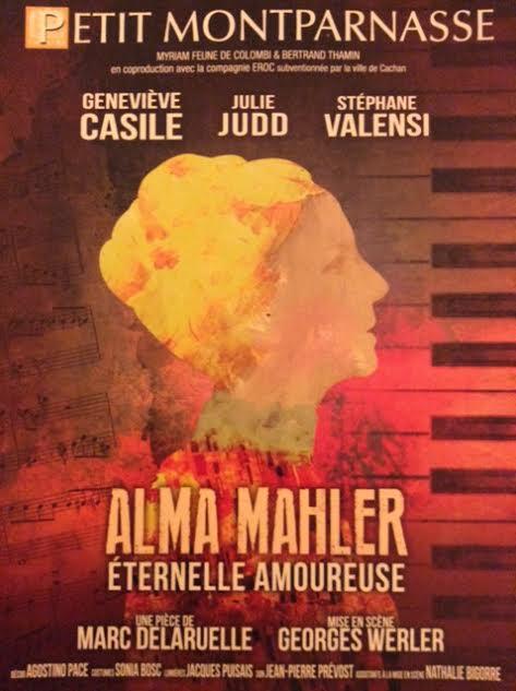 """Alma Malher"" affiche officielle"
