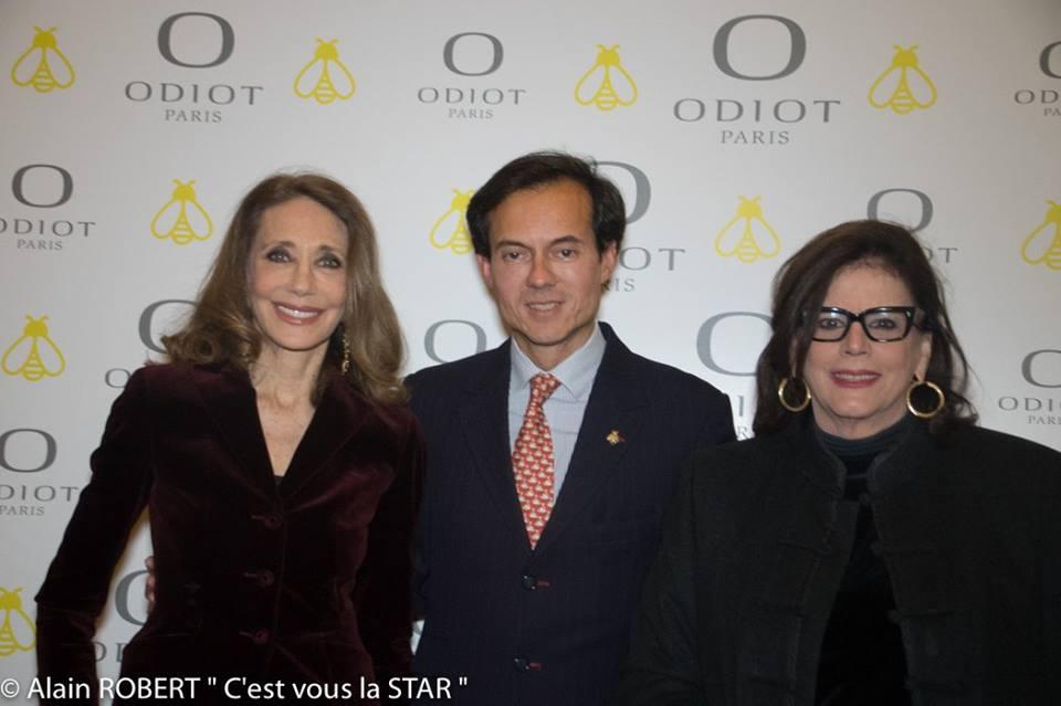 Marisa Berenson, Stéphane Ruffier-Meray et Alice de Jenlis