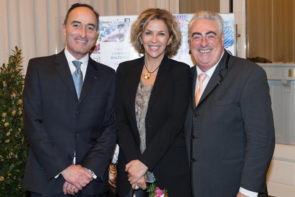 Hervé-Michel Dansac, Corinne Touzet et Jean-Michel Aubrun