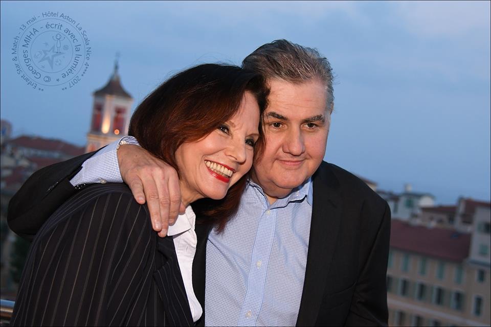Denise Fabre et Pierre Ménès