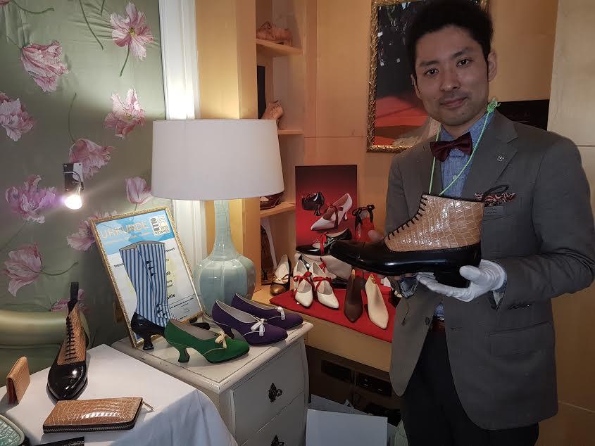 L'artiste cordonnier Noriyuki Misawa
