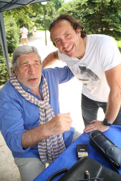 Jean-Pierre Castaldi et Philippe Candeloro