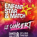 Les Kids United, stars du prochain concert « Enfant Star et Match »