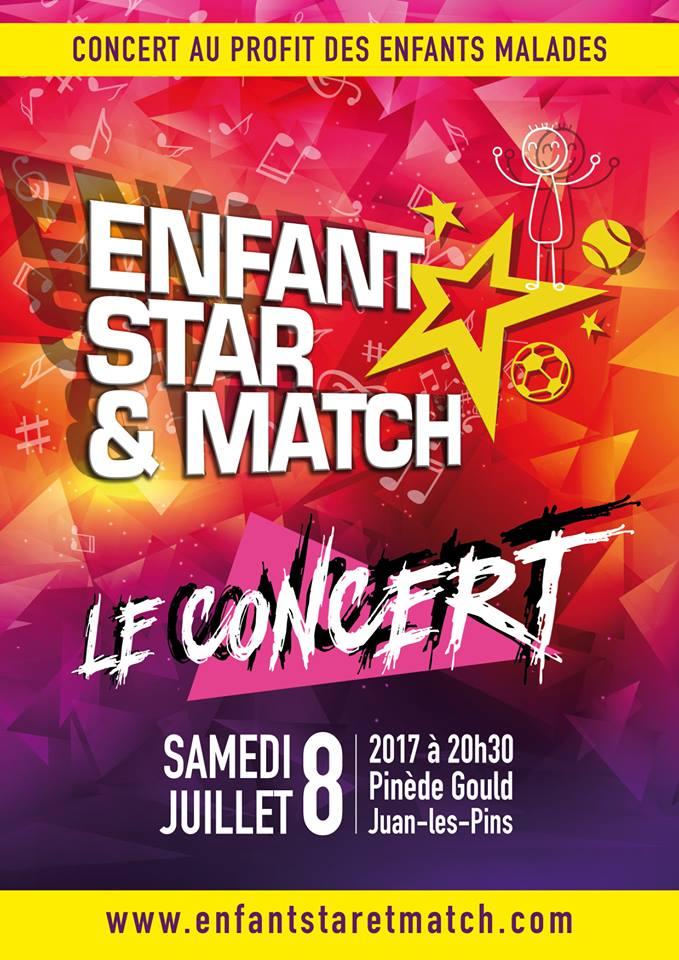 Enfant Star et Match : Le concert
