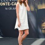 À la rencontre de la comédienne Stéphanie Pasterkamp, au 57e Festival de Télévision de Monte-Carlo