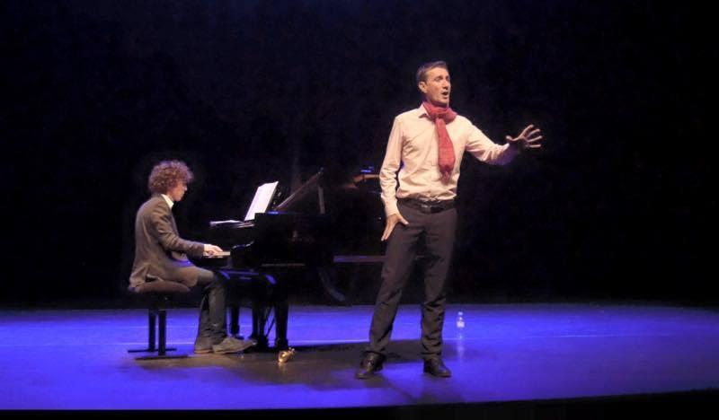 Yann sur scène