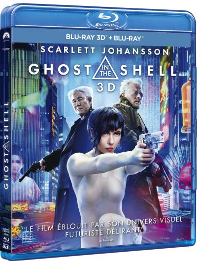 Ghost in the Shell Blu-ray 3D/2D