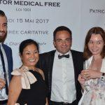 « Doctor Medical Free » a donné son dîner de gala à l'hôtel Hermitage de Monte-Carlo