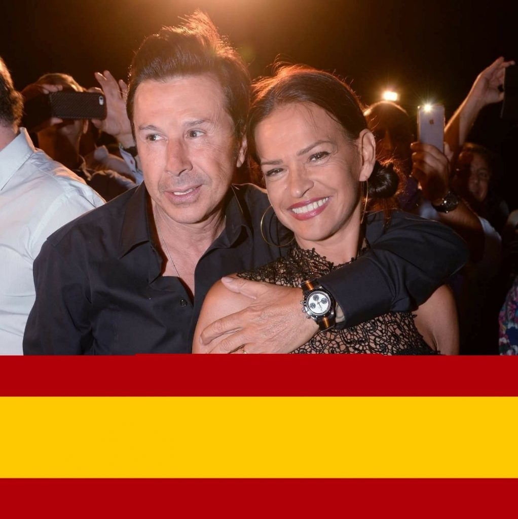 Vincent Martin et son épouse Cathy