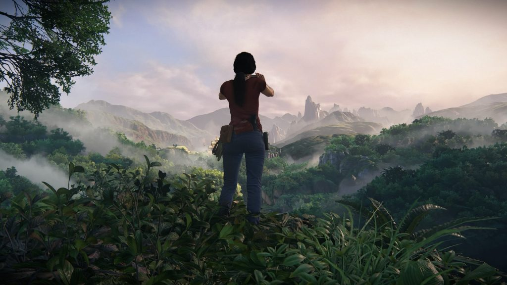 "Les panoramas sublimes de ""The Lost Legacy""."