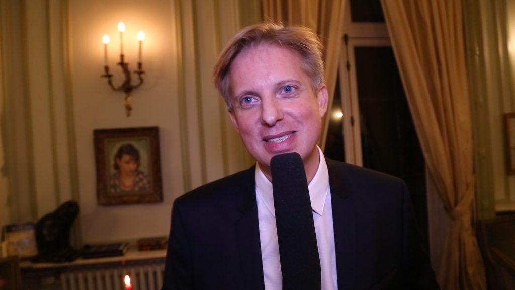 Stanislas Gouin au Cercle suédois à Paris