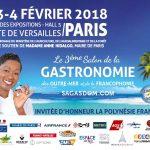 Le 3ème Salon de la Gastronomie des Outre-Mer avec Babette de Rozières, c'est parti !!!