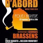 « Les Folies Bergère » avaient rendez-vous avec Brassens par Daphné Victor
