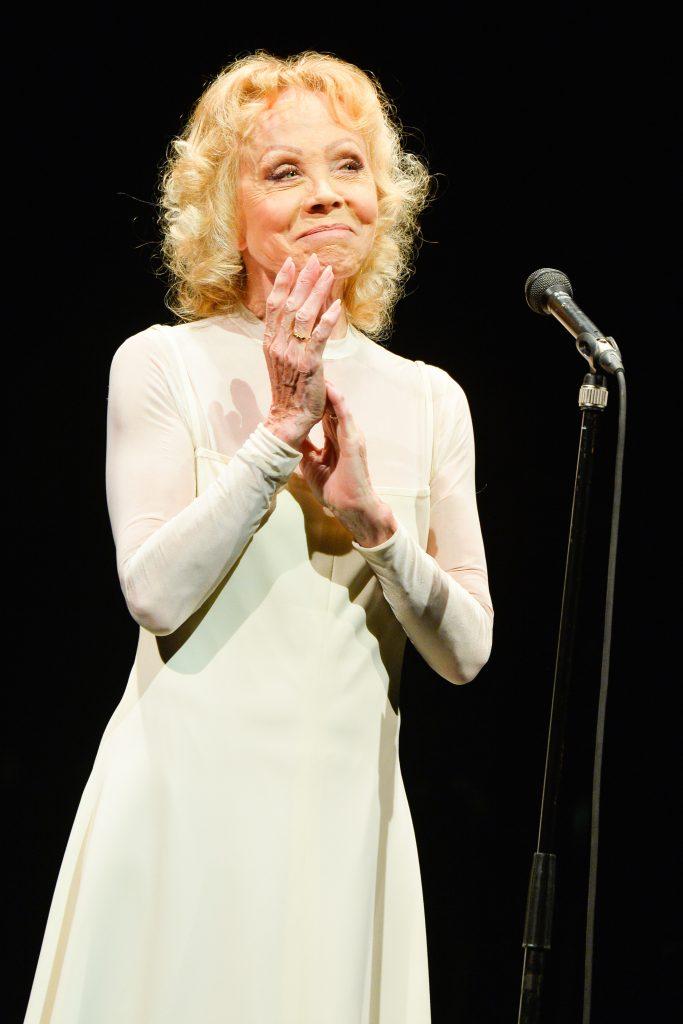Isabelle Aubret                                      Isabelle Aubret fait ses adieux à l'Olympia à Paris. Crédit photo : DR