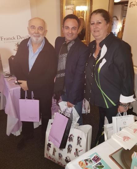 Gérard Gugnot Laurent Amar et Nathalie Dubois