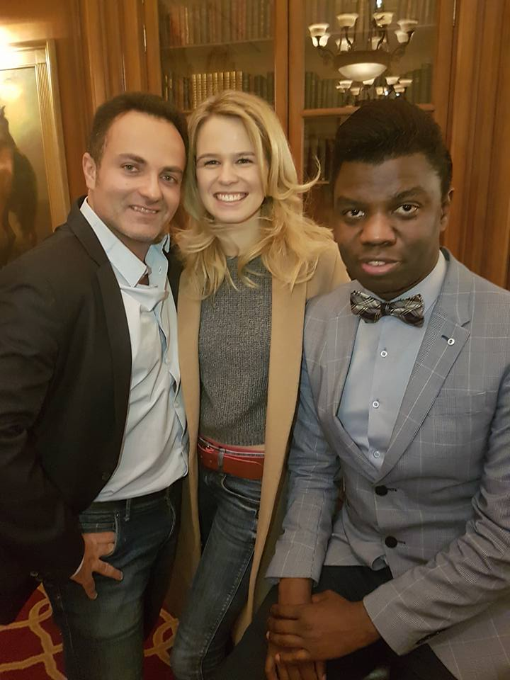 Laurent Amar, Julie Jardon et Le Prince Bokassa