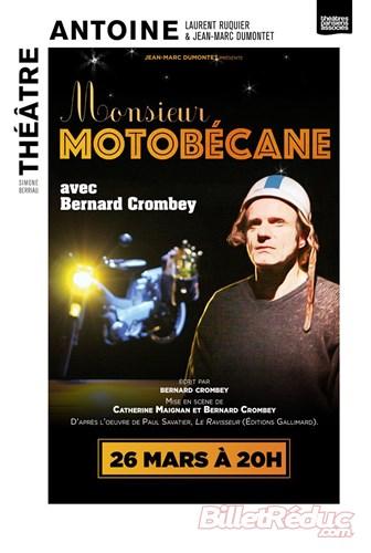 """""""Monsieur Motobécane """" de Bernard Crombey"""