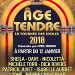 ÂGE TENDRE, LA TOURNÉE DES IDOLES Un nouveau spectacle pour un nouveau succès